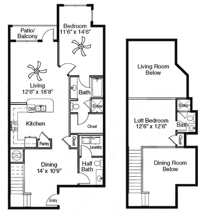 The Sidney at Morningside - Floorplan - Z