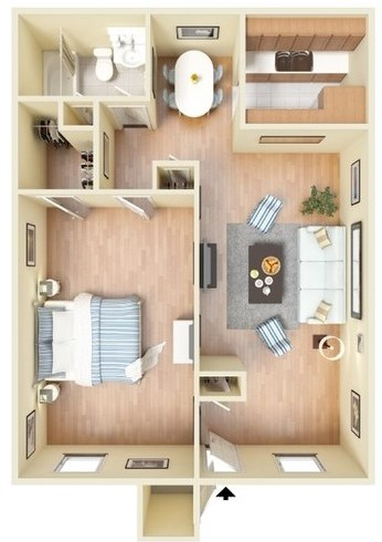 Sienna Villas Apartment Homes - Apartment 102
