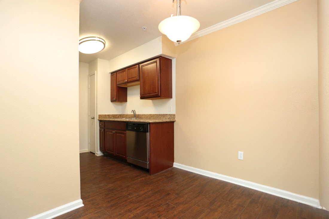 Wooden Cabinetry at Sienna Villas Apartment Homes in Freeport, TX