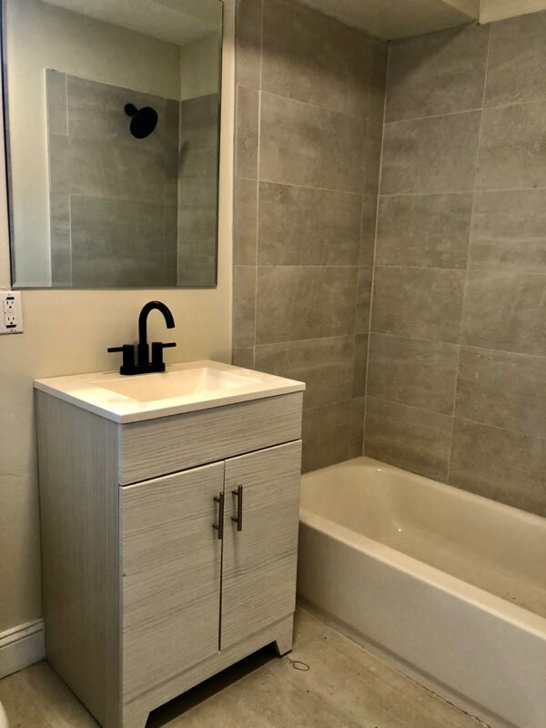 Bathroom Vanity at Somerville Gardens Apartments in Somerville, New Jersey