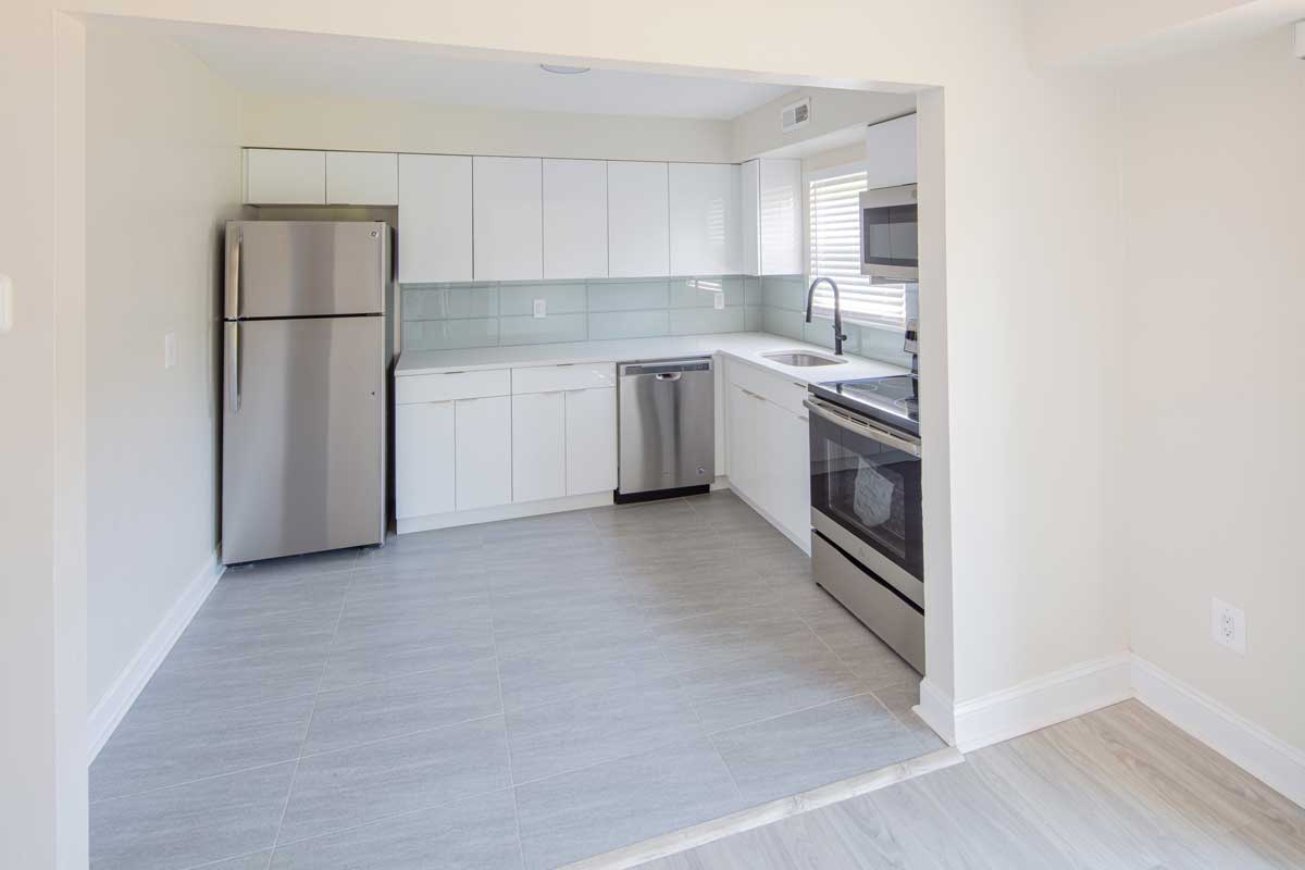 Stainless Steel Appliances at Somerville Gardens Apartments in Somerville, New Jersey