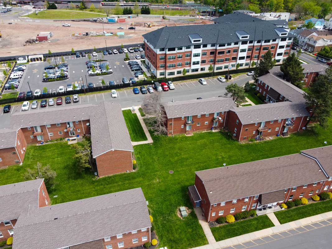 Ample Parking at Somerville Gardens Apartments in Somerville, New Jersey