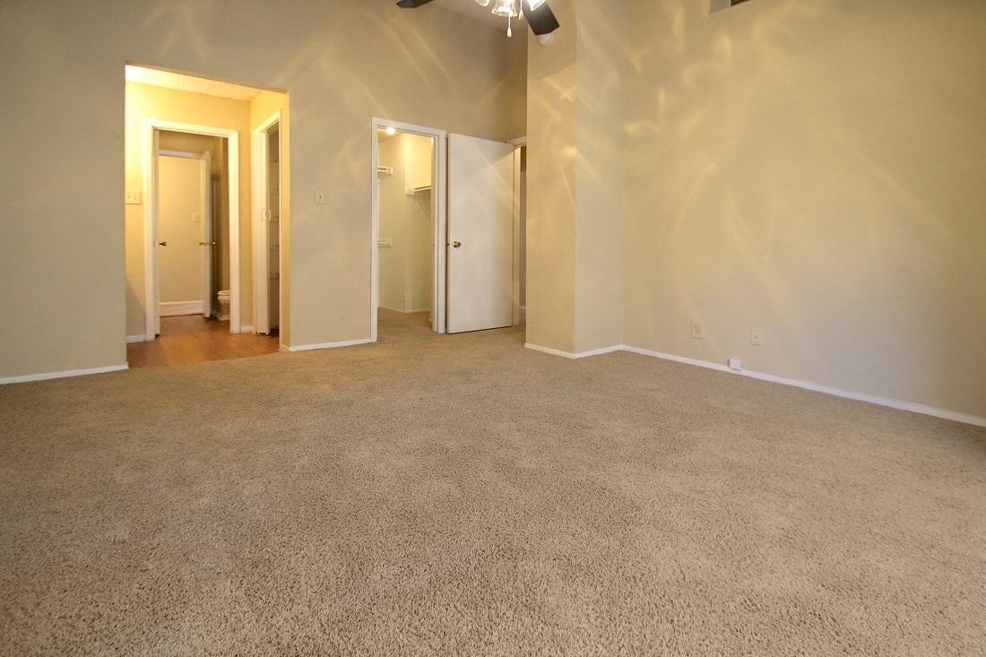 Plush Carpeting at Songbird Apartments in San Antonio, Texas