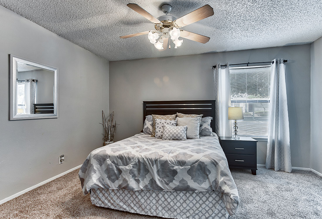 1 & 2 Bedroom Apartments for Rent at Songbird Apartments in North Central San Antonio, TX.