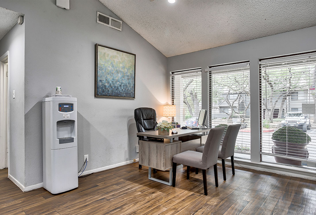 Clubhouse at Songbird Apartments in North Central San Antonio, Texas