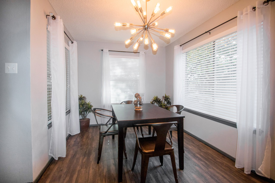 Separate Dining Room at Songbird Apartments in San Antonio, Texas