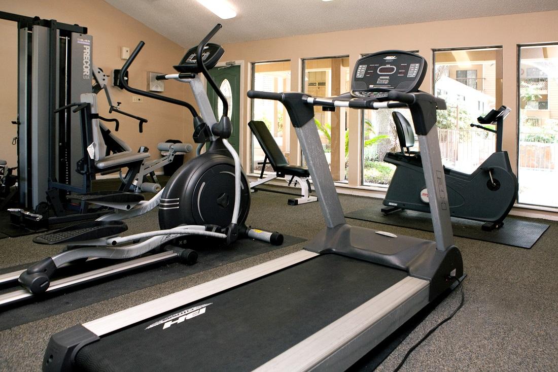 Cardio Equipment at Songbird Apartments in San Antonio, Texas