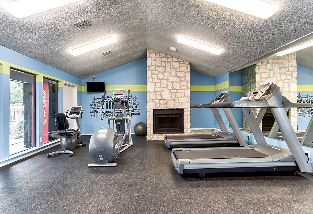 Apartments for Rent with Fitness Center at Songbird Apartments in North Central San Antonio, TX.