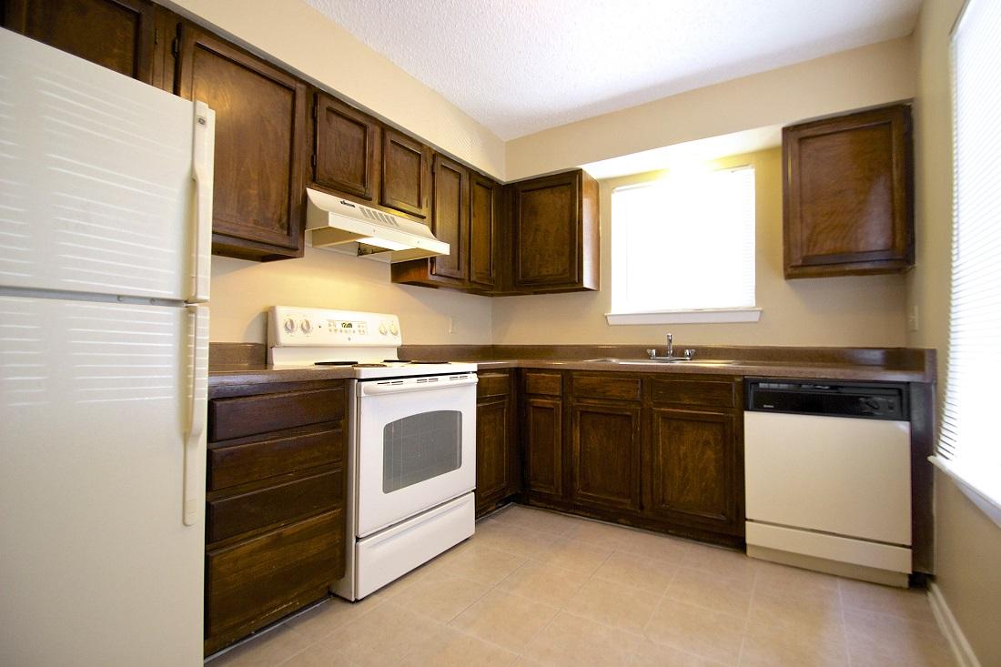 Spacious Kitchen at Songbird Apartments in San Antonio, Texas