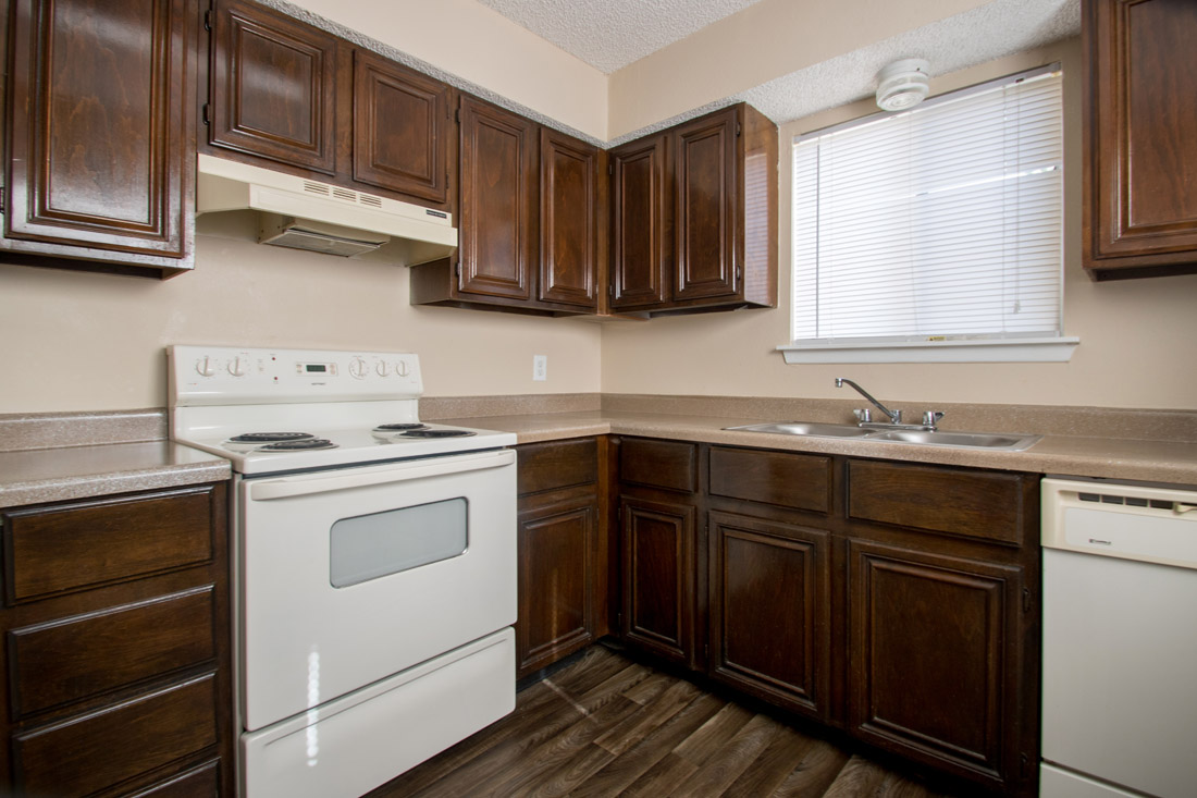 Spacious Kitchen at Songbird Apartments in San Antonio, Texas