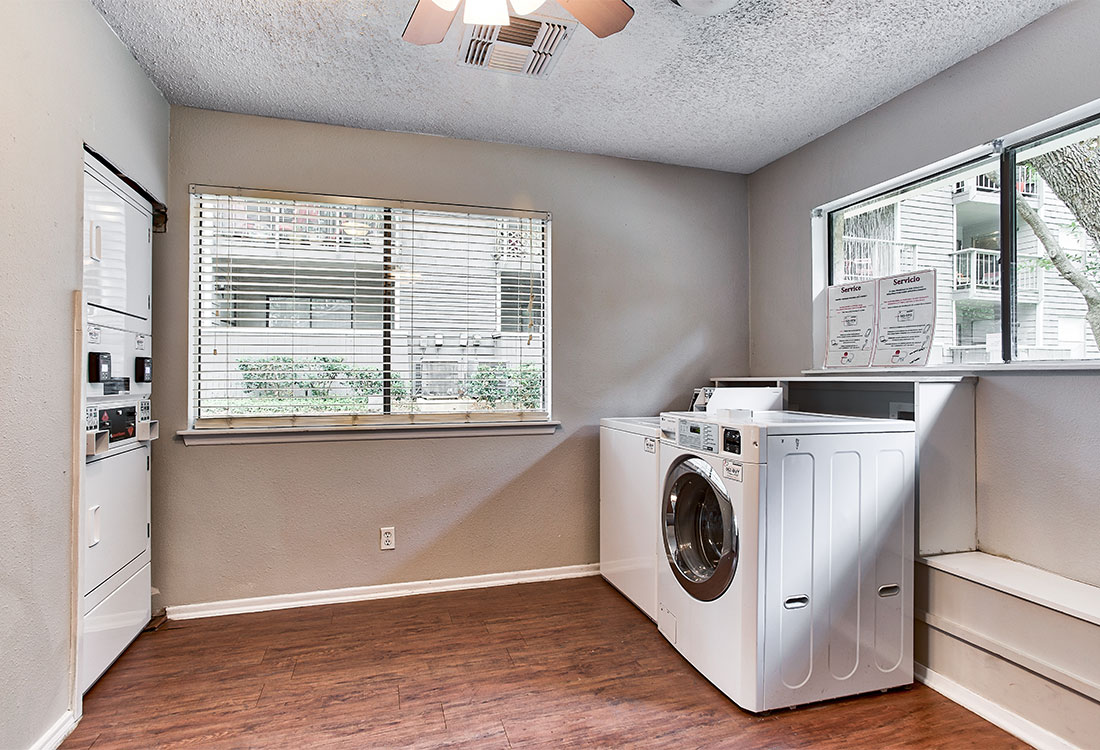 Apartments for Rent with On-Site Laundry at Songbird Apartments in North Central San Antonio, TX.