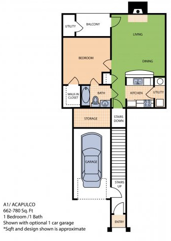 Oxford at Sonterra - Floorplan - A1L