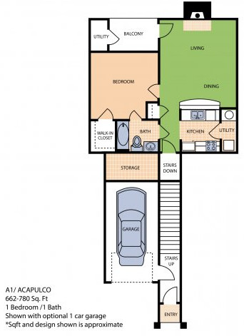 Oxford at Sonterra - Floorplan - A1U