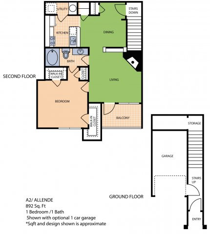 Oxford at Sonterra - FloorPlan - A2