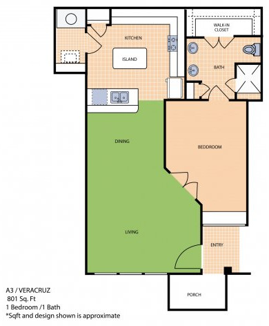 Oxford at Sonterra - Floorplan - A3