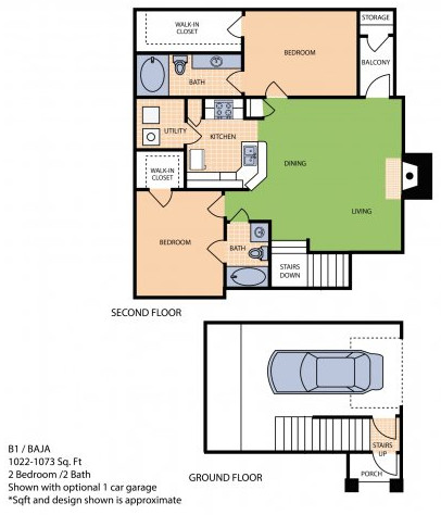 Oxford at Sonterra - Floorplan - B1L
