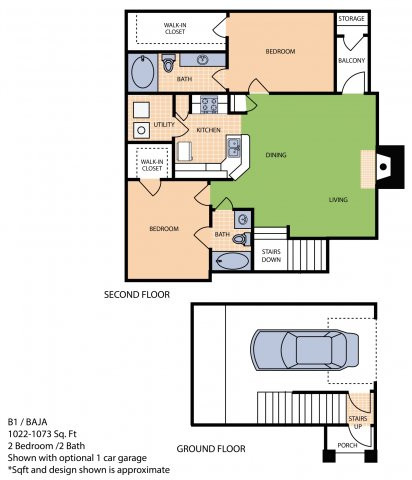 Oxford at Sonterra - FloorPlan - B1U