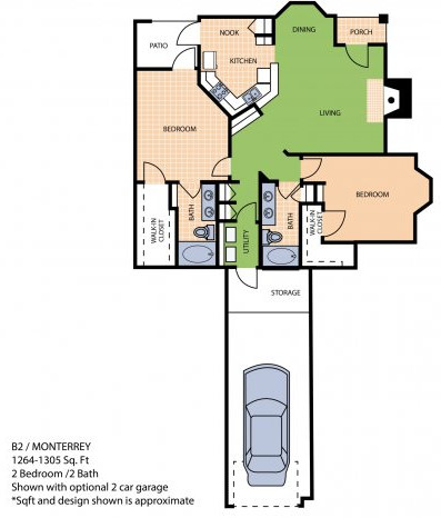 Oxford at Sonterra - Floorplan - B2L