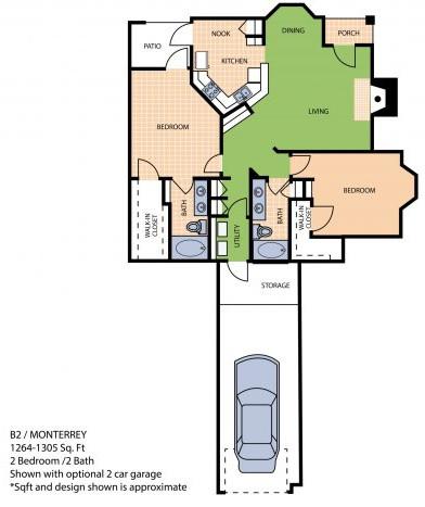 Floorplan - B2U image