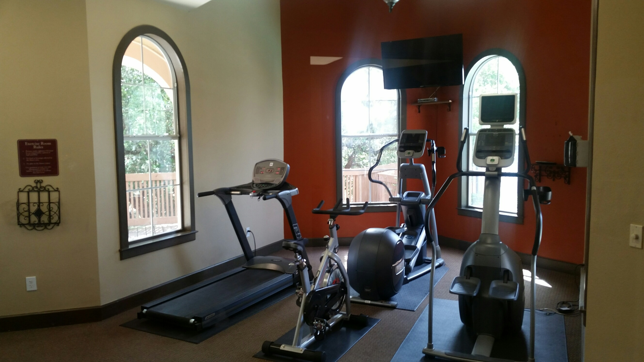 Fitness Center at The Oxford at Sonterra Apartments in San Antonio, TX