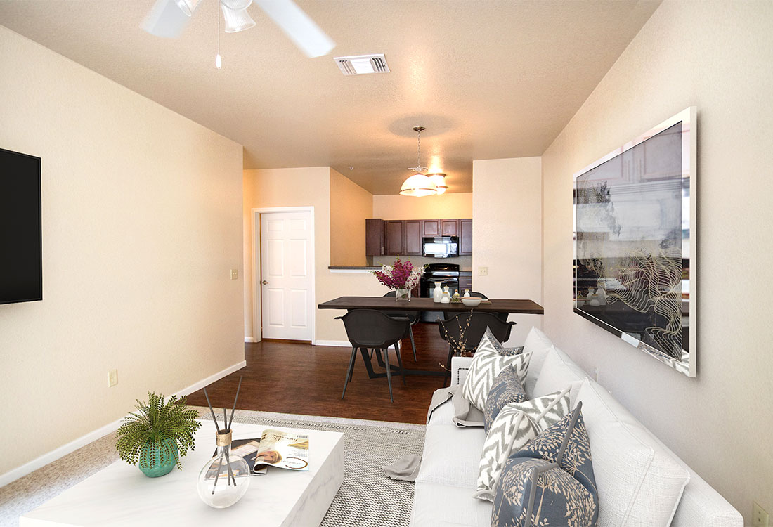 Open Floor Plans at The Reserves at South Plains Apartments in Lubbock, Texas
