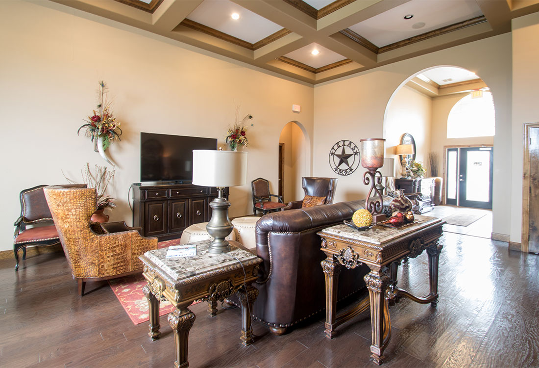 Stylish Interiors at The Reserves at South Plains Apartments in Lubbock, Texas