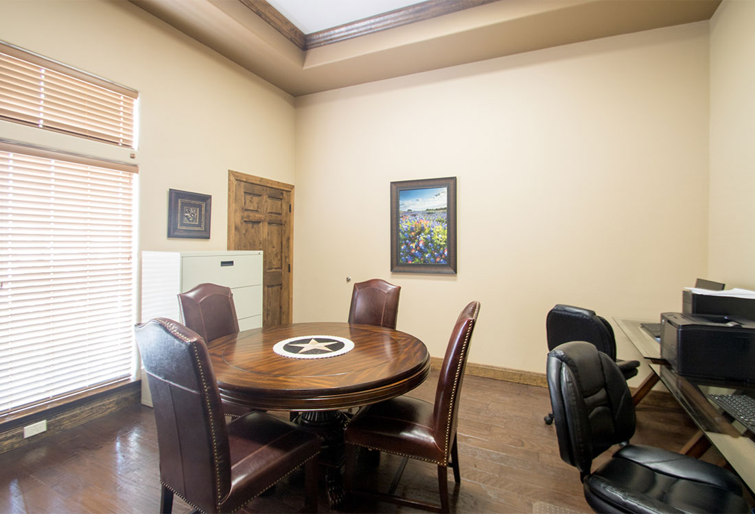 Business Center at The Reserves at South Plains Apartments in Lubbock, Texas