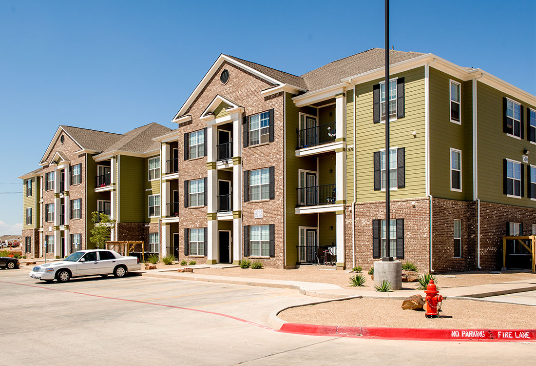 Ample Parking at The Reserves at South Plains Apartments in Lubbock, Texas
