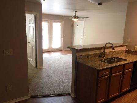 Granite Countertops at The Quarters on Razorback Road Apartments in Fayetteville, AR