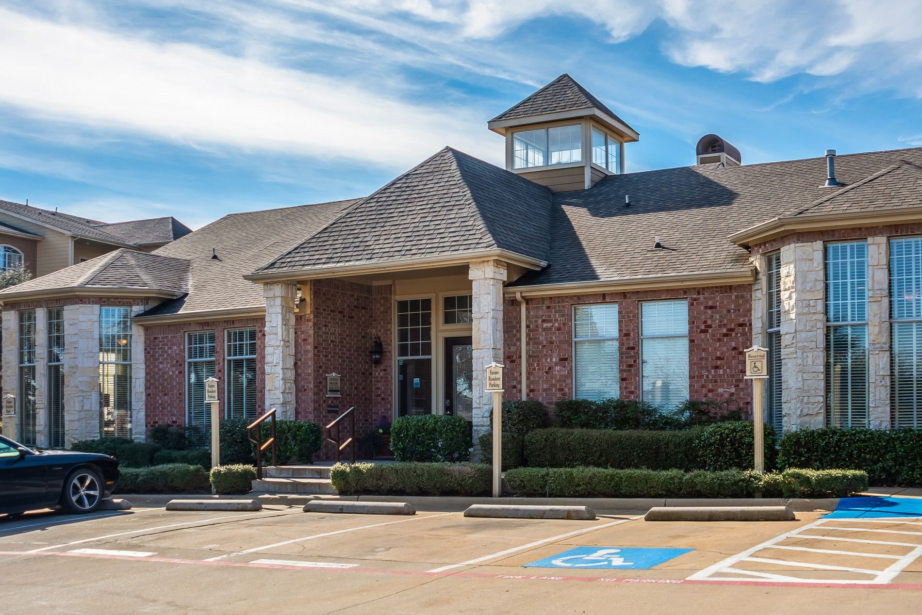 Leasing Office at Station 3700 Apartment Homes in Euless, Texas