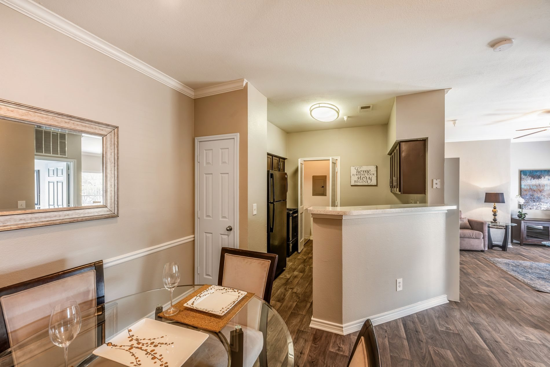Stylish Interiors at Station 3700 Apartment Homes in Euless, Texas