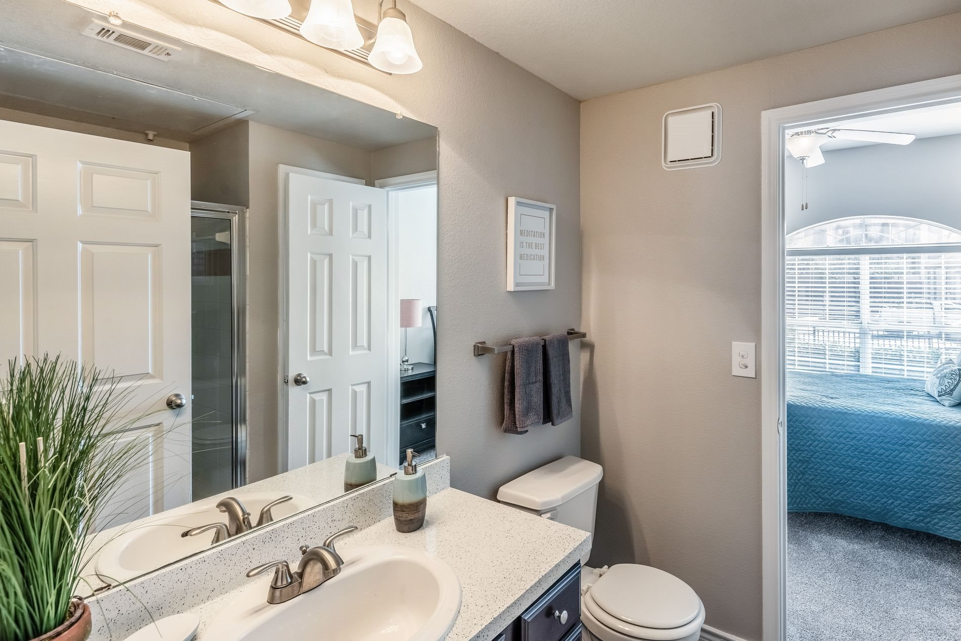 Full Bathrooms at Station 3700 Apartment Homes in Euless, Texas