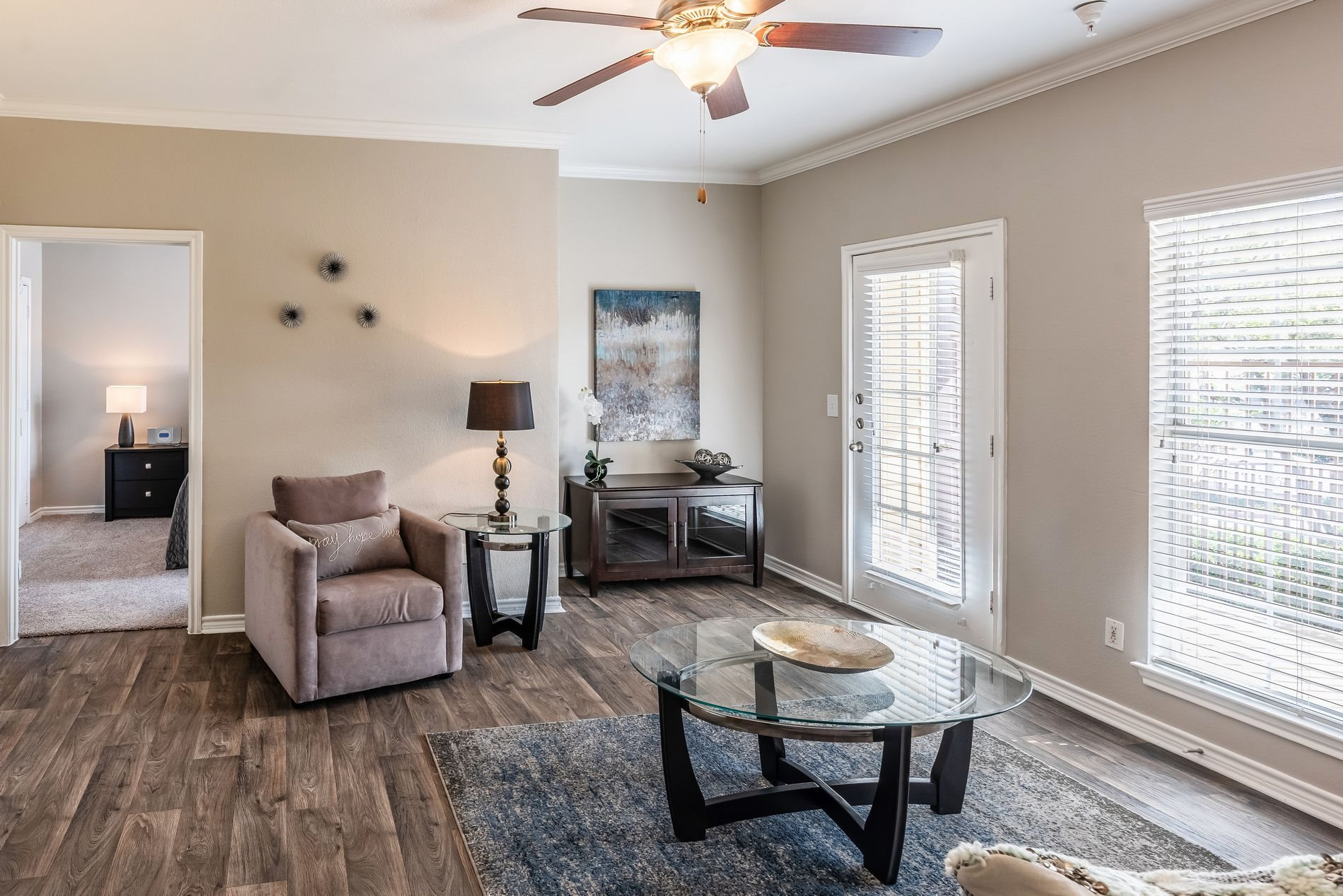 Spacious Interior at Station 3700 Apartment Homes in Euless, Texas