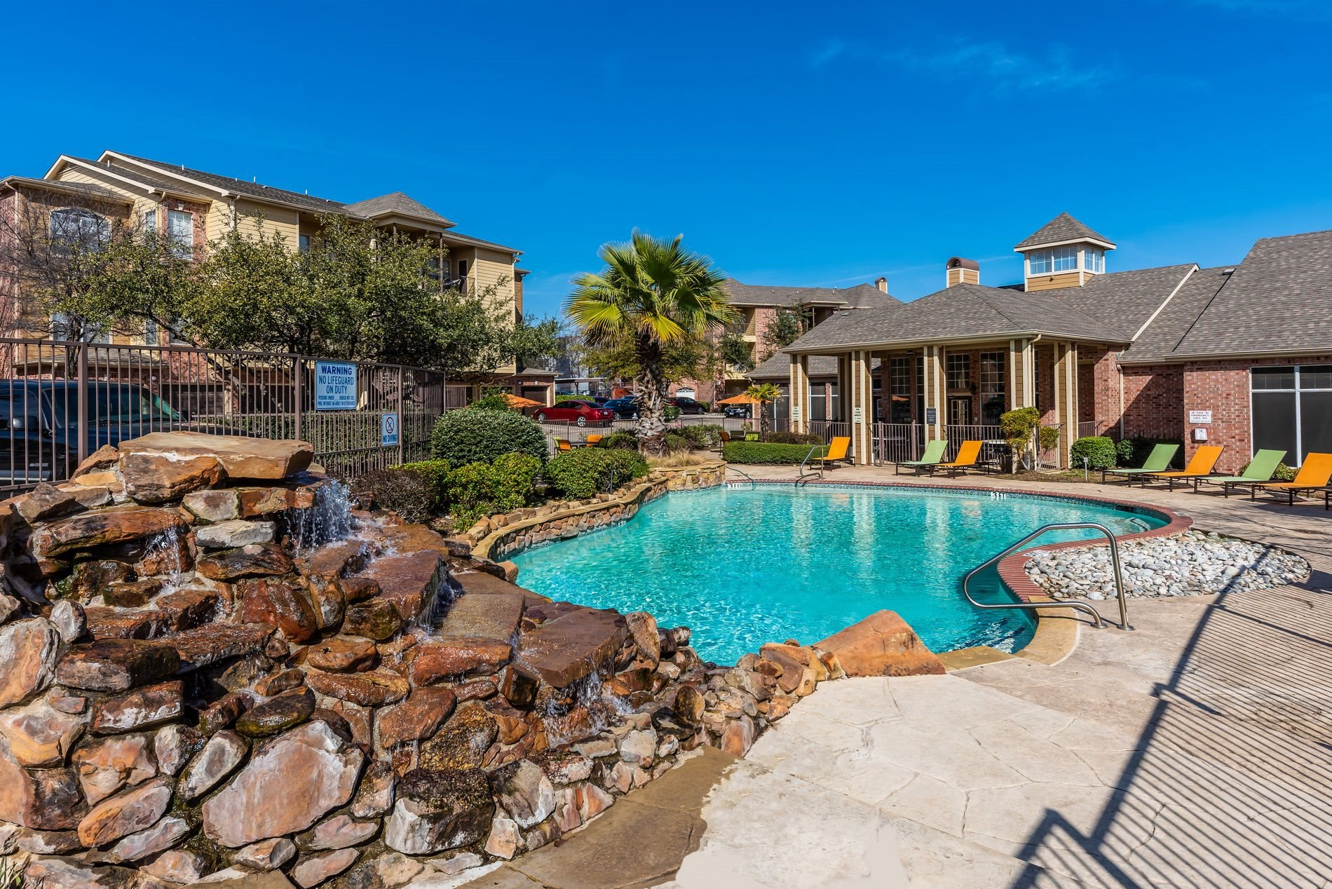 Two Resort-Style Pools at Station 3700 Apartment Homes in Euless, Texas