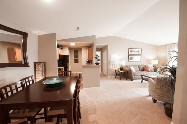 Open Floor Plans at Stone Bridge Apartments in Mason, Ohio