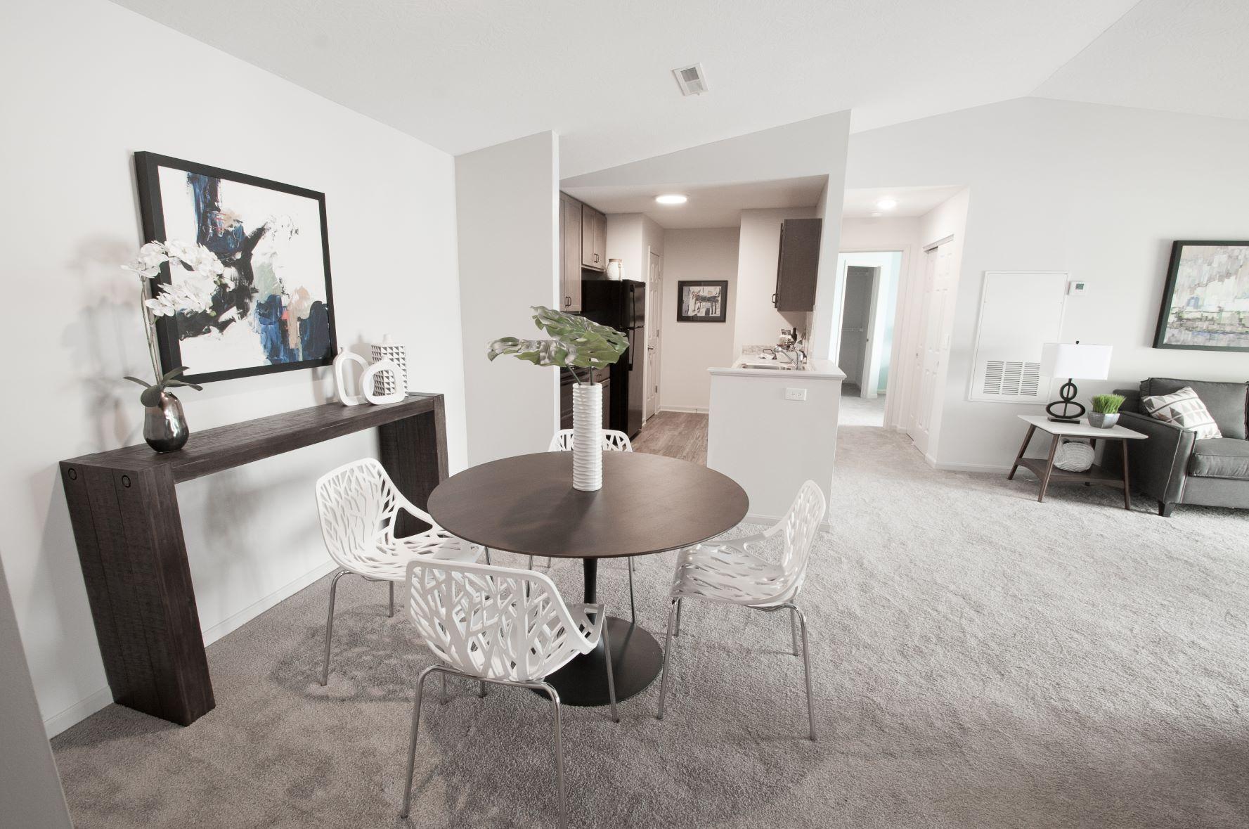 Open Floor Plans at Stone Bridge Apartments in Mason, Ohio