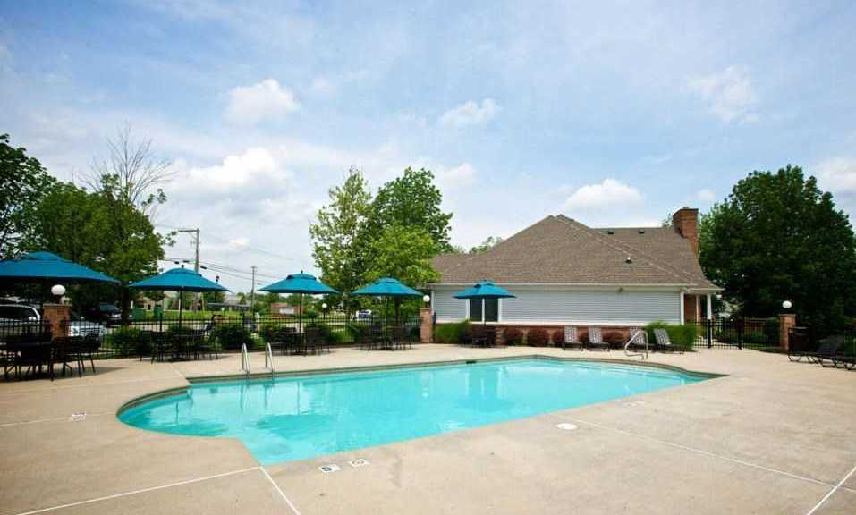 Sparkling Swimming Pool at Stone Bridge Apartments in Mason, Ohio