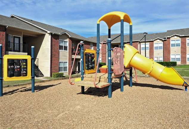 Fun-Filled Playground at the Stonebrook Village Apartments in Frisco, TX