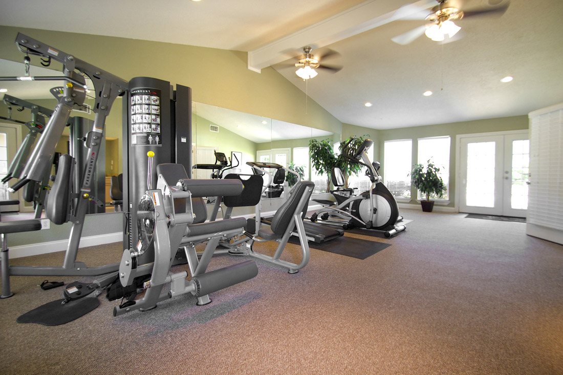 Fully-Equipped Fitness Center at Stonegate Apartments in Abilene, TX