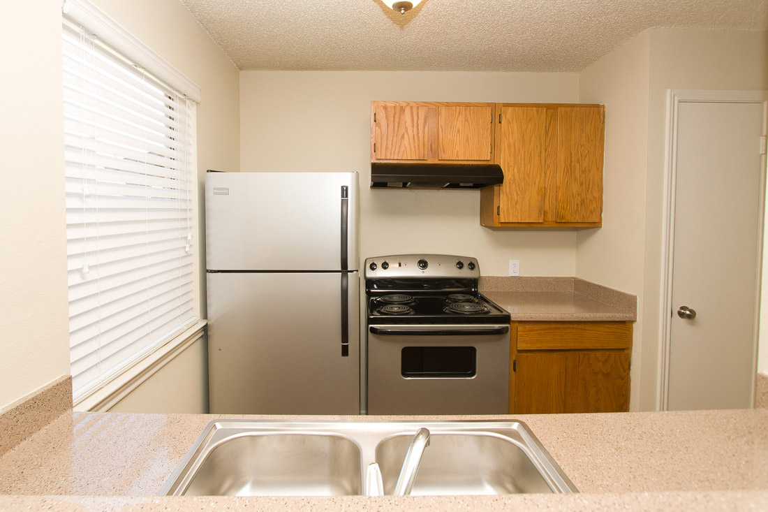Stainless Steel Appliances at Stonegate Apartments in Abilene, TX