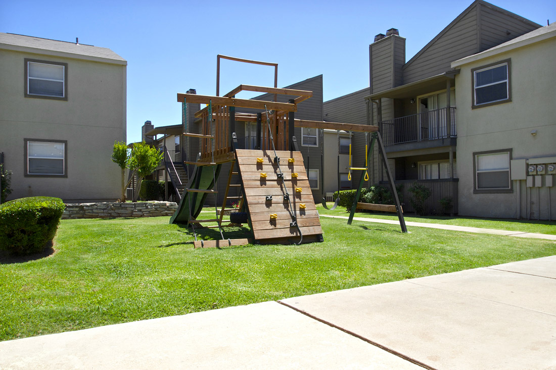 Children's Playground at Stonegate Apartments in Abilene, TX