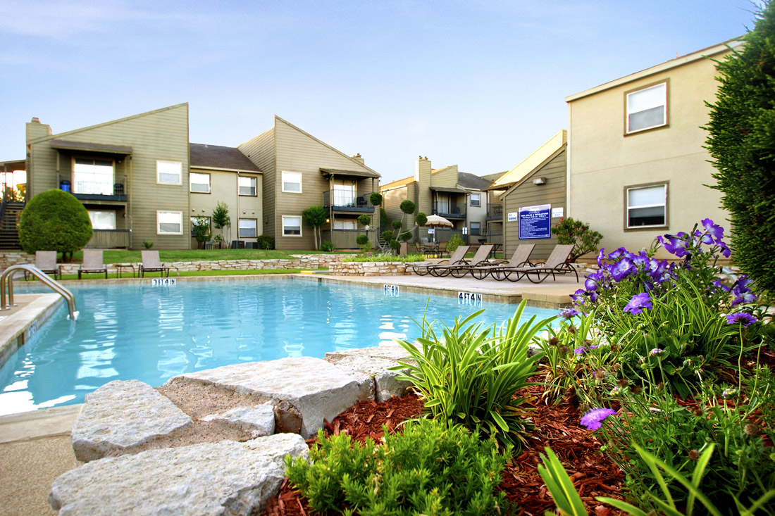 Resort-Style Swimming Pool at Stonegate Apartments in Abilene, TX