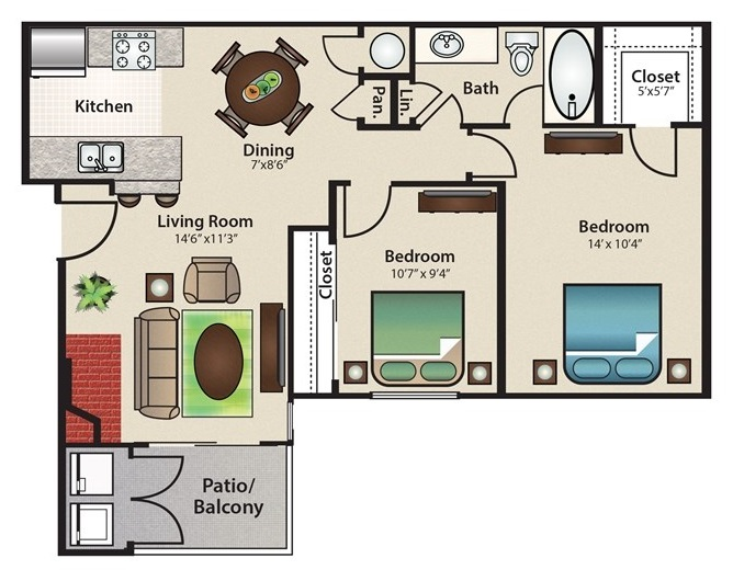 Floorplan - Harbor image