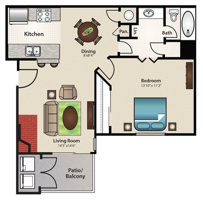 Stonehill at Pipers Creek - Floorplan - Lighthouse