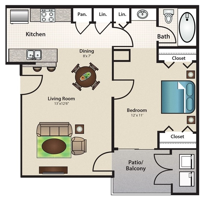Stonehill at Pipers Creek - Floorplan - Mariner