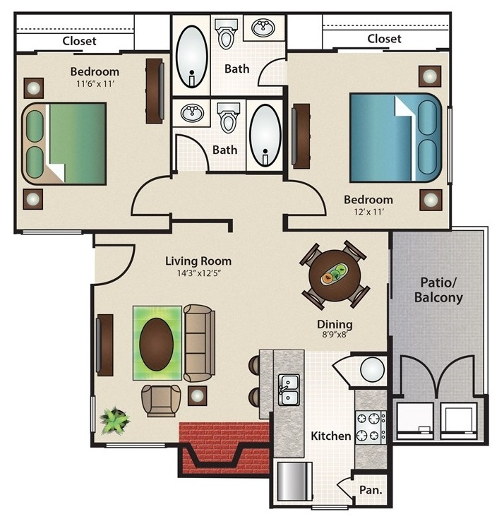 Stonehill at Pipers Creek - Floorplan - Seascape