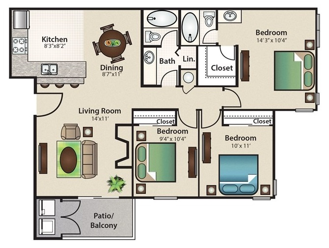 Stonehill at Pipers Creek - Floorplan - Spinnaker