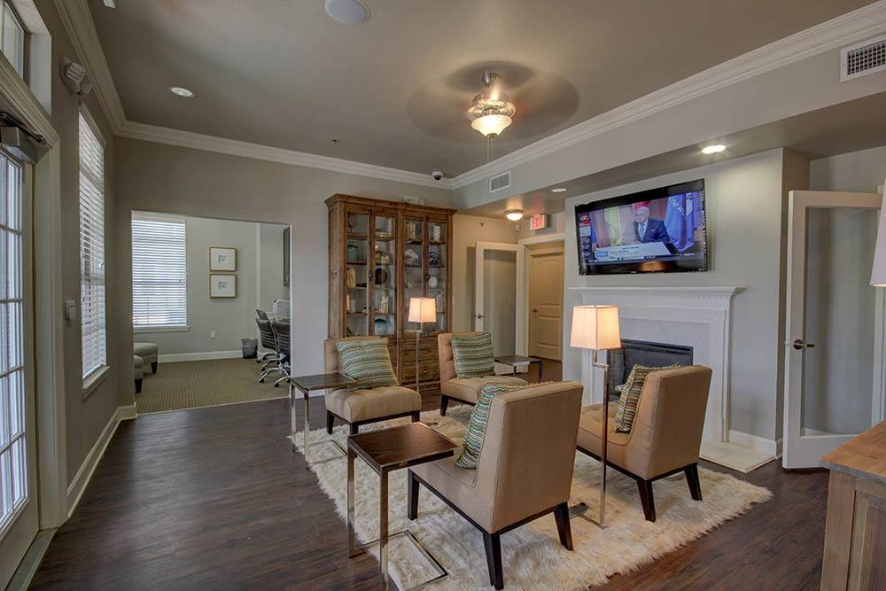 Luxury Clubhouse at Waterview Apartments in Youngsville, Louisiana