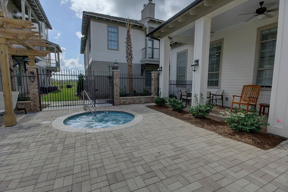 Hot Tub at Waterview Apartments in Youngsville, Louisiana