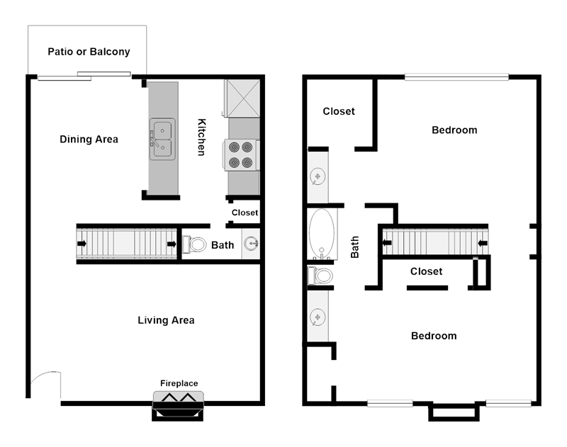Summer Glen Apartments - Floorplan - B3